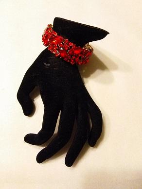 Red sparkle bracelet