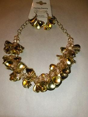 Golden flower set