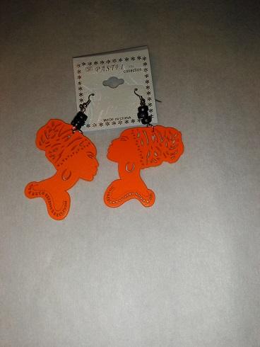 Nubian lady-orange