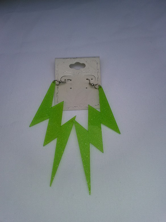 Lightening bolt green
