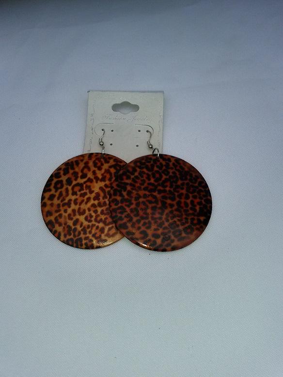 Wooden tiger print