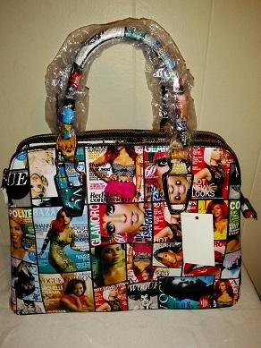 Patent magazine bag w/strap