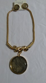 Gold gray set
