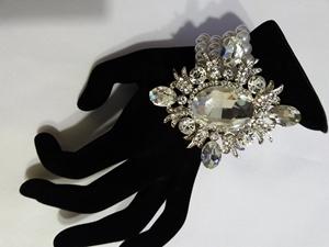 Pearl/diamond