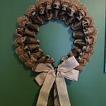 Golden-Brown Wreath