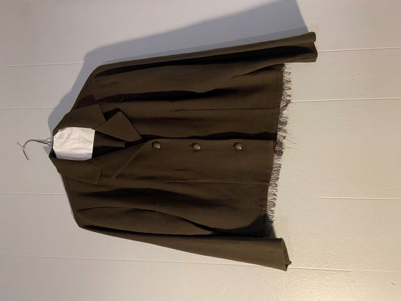 Green Jacket w/ fringe bottom