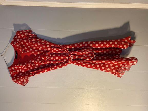 Polka Dot red/white dress