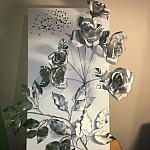 Silver flowers-1