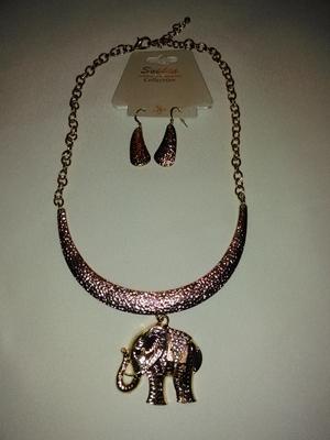 Elephant set-gold