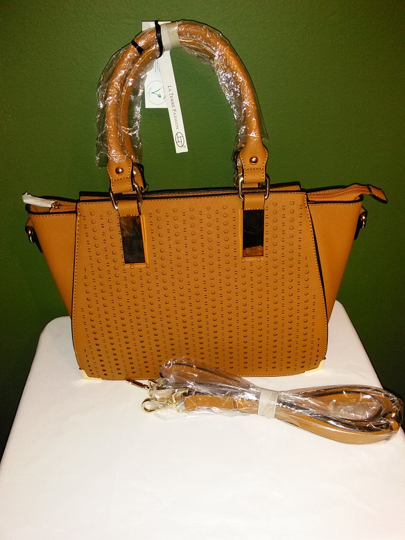 Golden brown Fancy w/strap