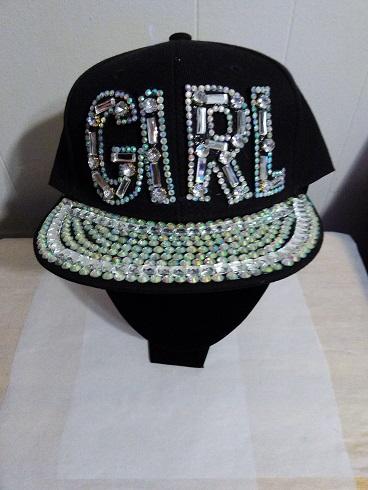 GIRL Cap-black