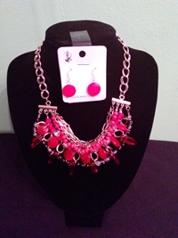 Red spike set