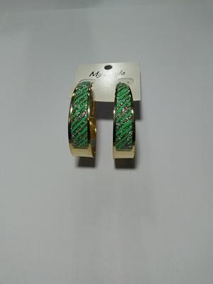Glitter hoop-green