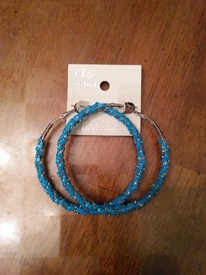 Hoop-light blue